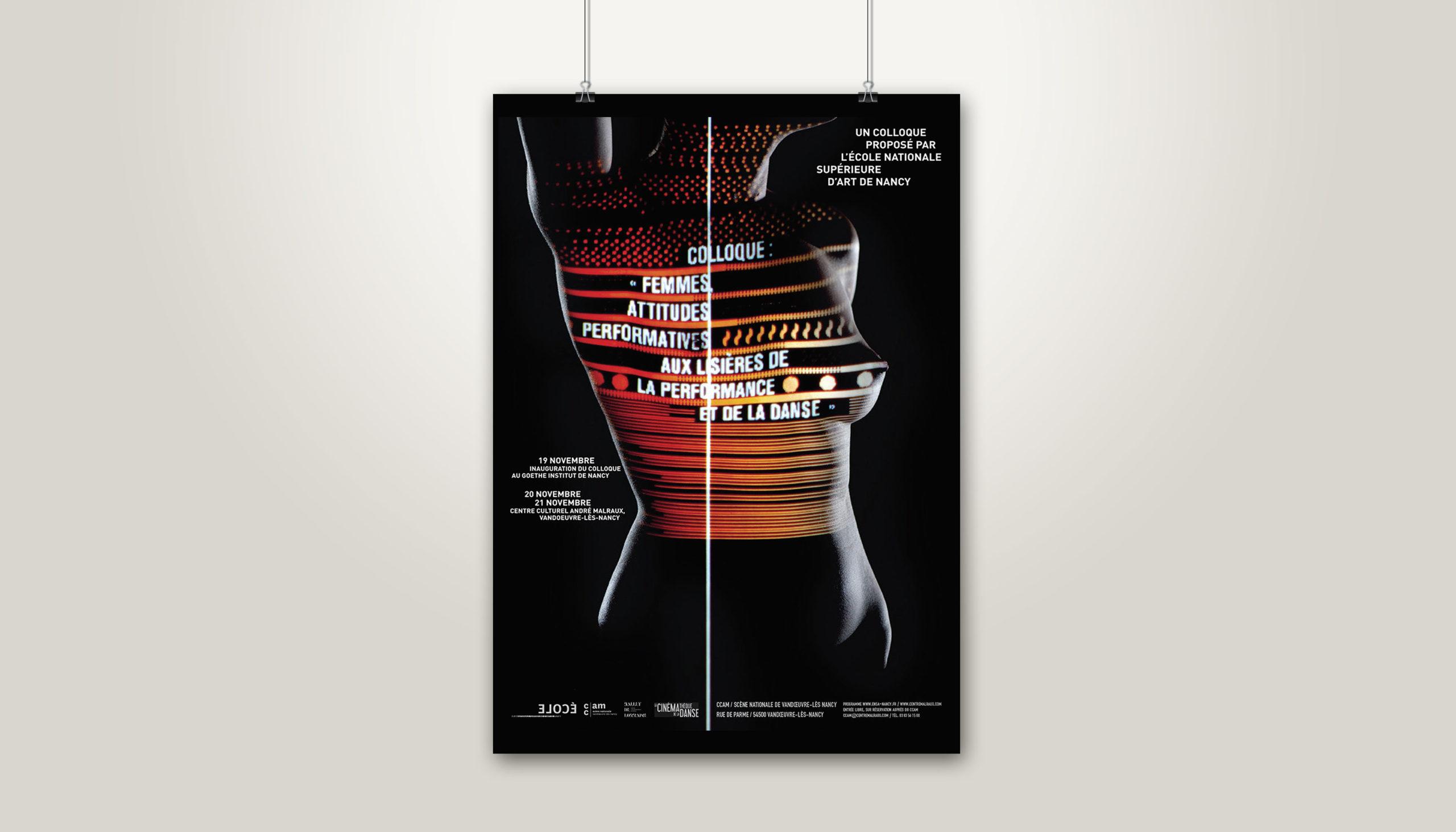 Léa Candat _ Graphiste - Webdesigner _ Nancy _ Projets _ Graphisme _ Affiche _ Femmes attitudes