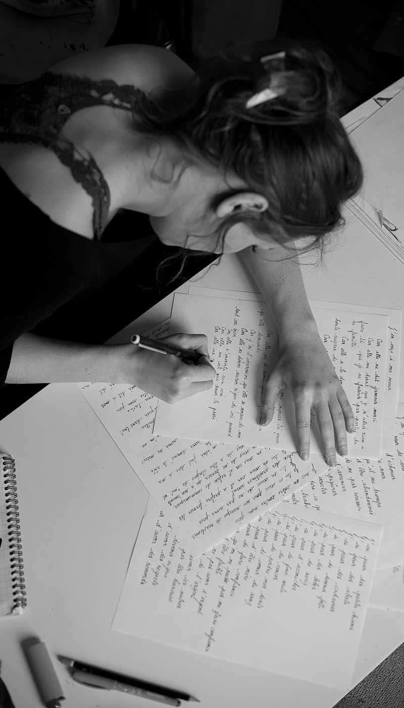 Léa Candat _ Graphiste - Webdesigner _ Nancy _ Projets _ Art _ Performance _ Colère