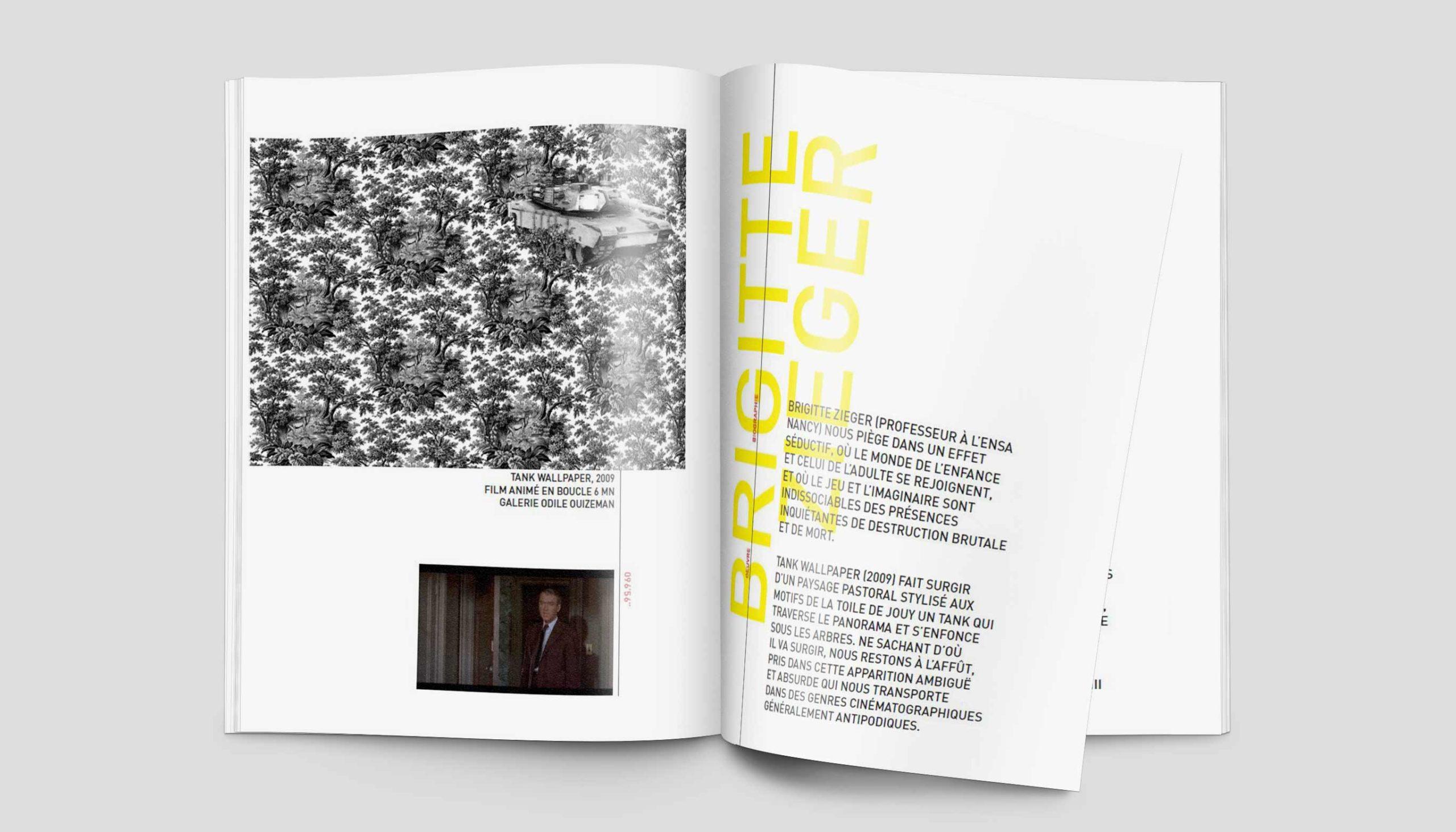 Léa Candat _ Graphiste - Webdesigner _ Nancy _ Projets _ Graphisme _  Livret _ 1+1