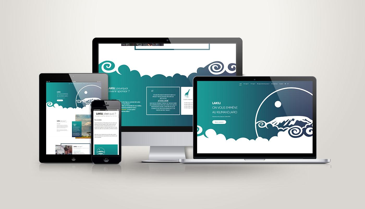 Léa Candat _ Graphiste - Webdesigner _ Nancy _ Projets _ Web _ Site _ Lakili