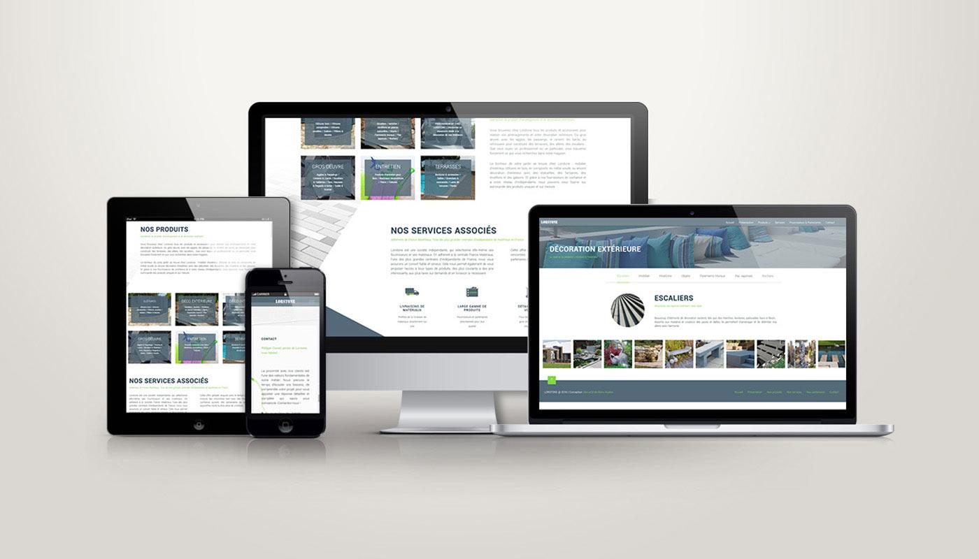Léa Candat _ Graphiste - Webdesigner _ Nancy _ Projets _ Web _ Site _ Lortsone
