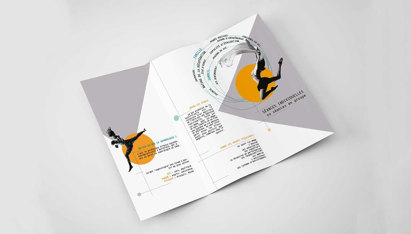 Léa Candat _ Graphiste - Webdesigner _ Nancy _ Projets _ Graphisme _ Brochure _ Douce Tension