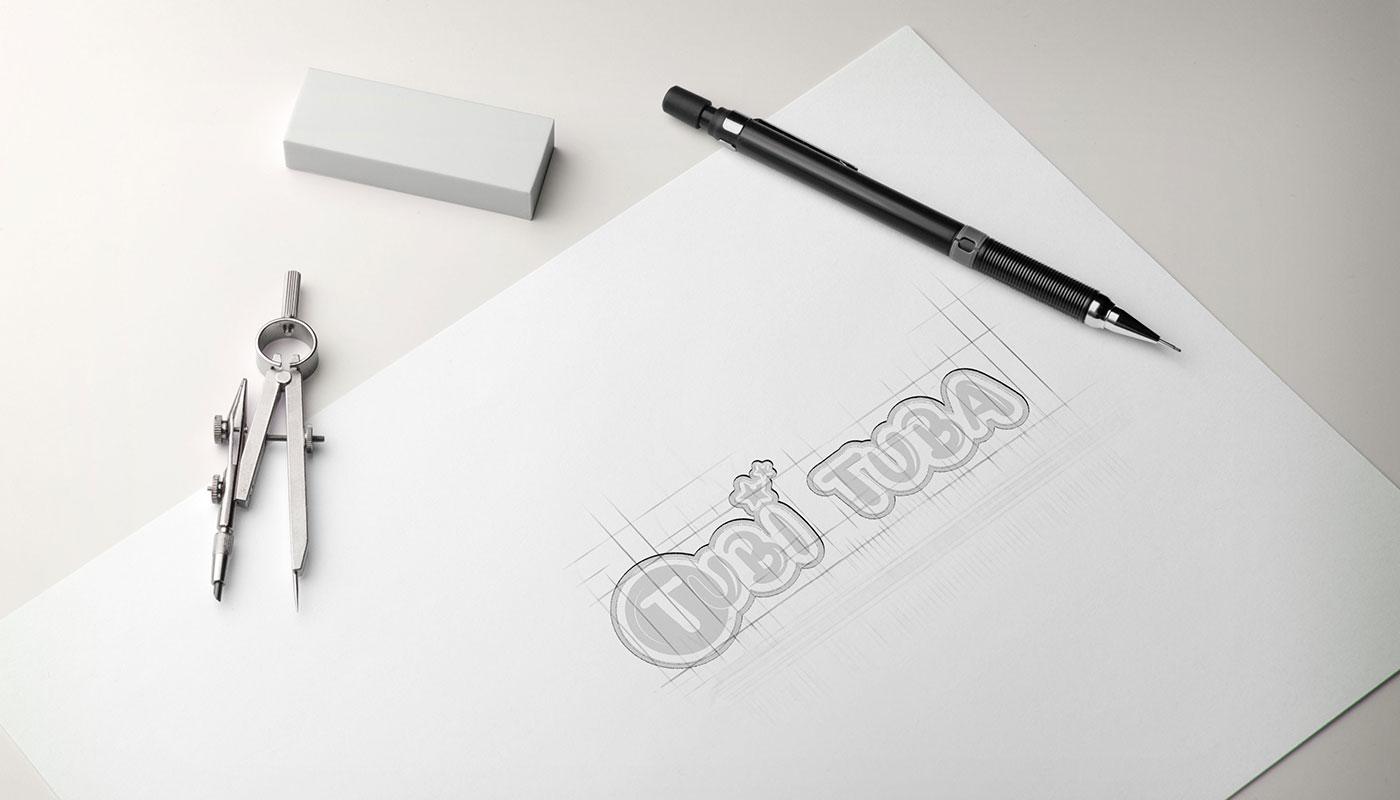 Léa Candat _ Graphiste - Webdesigner _ Nancy _ Projets _ Graphisme _ Logo _ TubiTuba