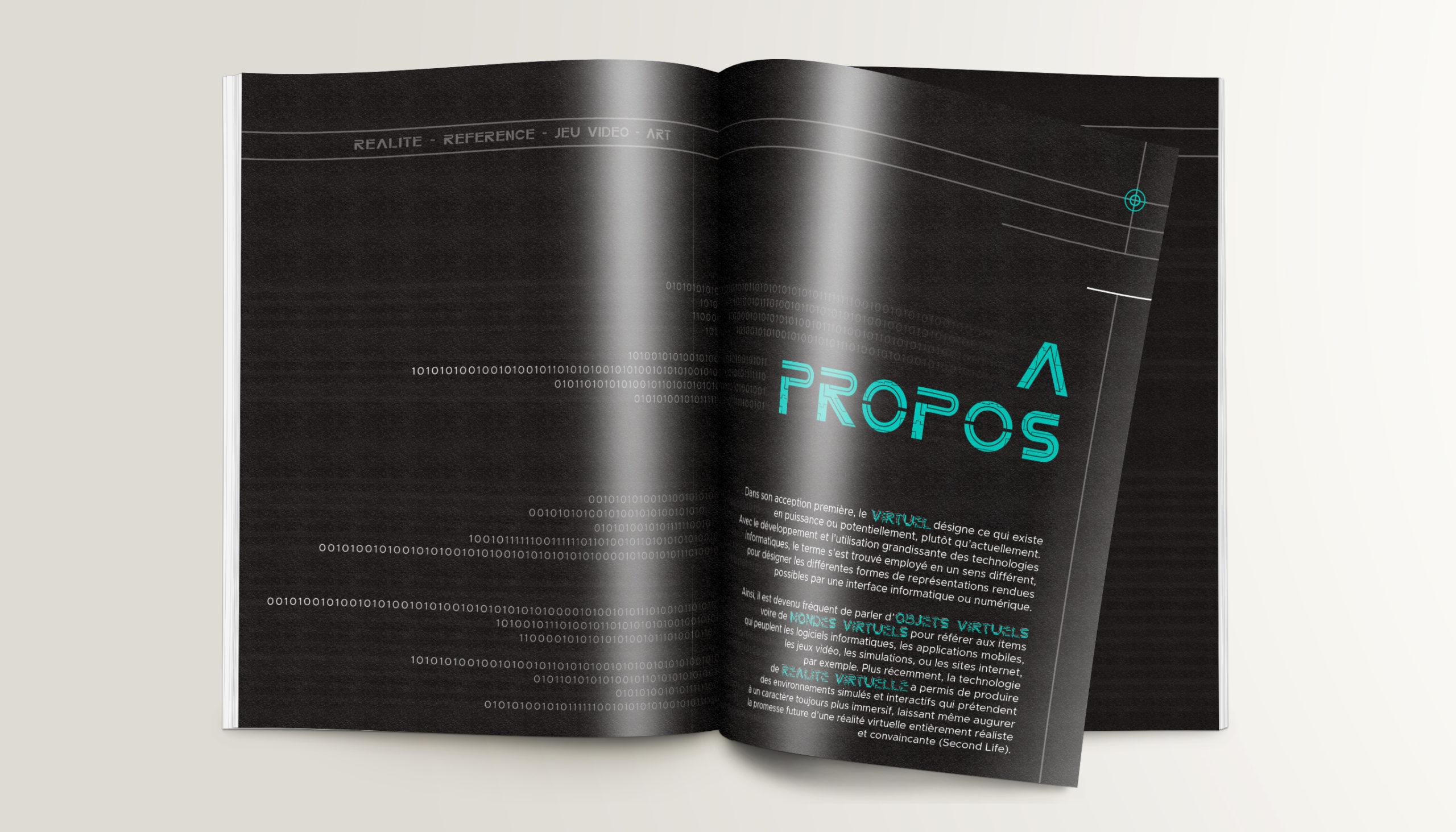 Léa Candat _ Graphiste - Webdesigner _ Nancy _ Projets _ Graphisme _  Programme _ Mondes virtuels